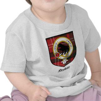 Nesbitt Clan Crest Badge Tartan Tshirts