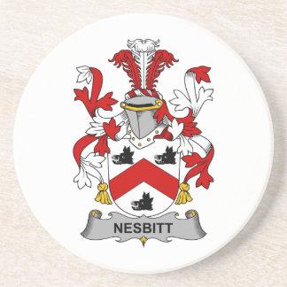 Nesbitt Family Crest Coasters