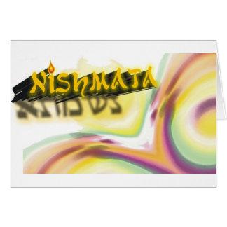 Neshama Greeting Card