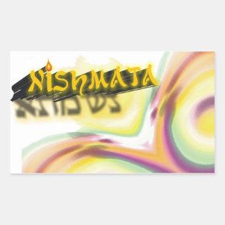 Neshama Rectangular Sticker