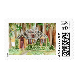 Nesltdown Watercolor Postage