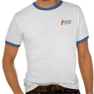NESRA Ringer T-Shirt - Logo Front / Creature Back