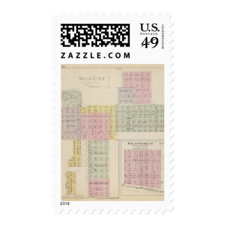 Ness City, Grainfield, Kansas Postage Stamps