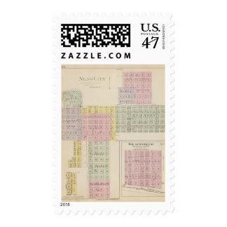 Ness City, Grainfield, Kansas Stamp