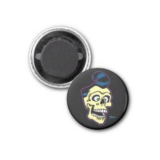 Ness Rockabilly 00 1 Inch Round Magnet