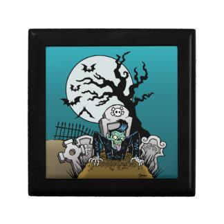Ness Rockabilly Zombie Jewelry Box