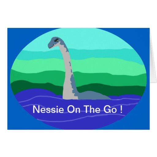 Nessie 2 blank card