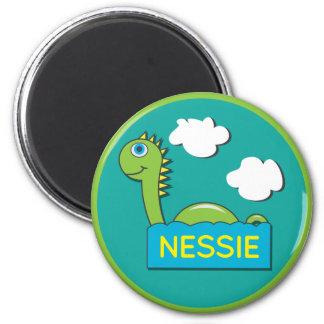 Nessie 2 Inch Round Magnet