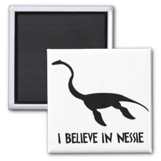 Nessie 2 Inch Square Magnet