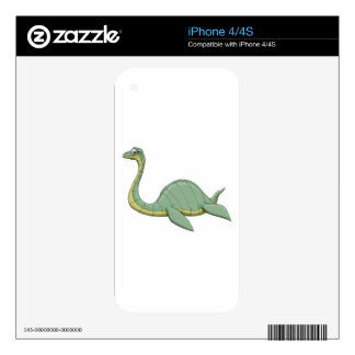 NESSIE DECAL FOR THE iPhone 4S