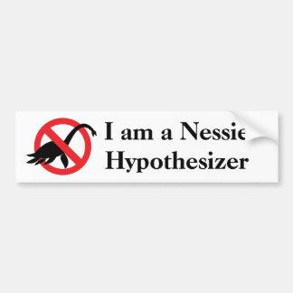 Nessie Hypothesizer Car Bumper Sticker