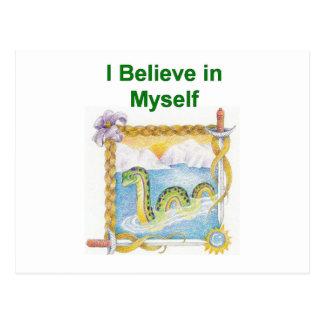 Nessie - I Believe in Myself Postcard