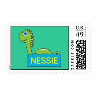 Nessie Postage Stamp