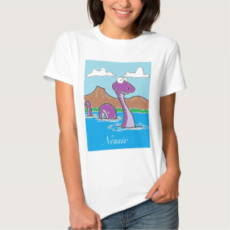 Nessie: the Loch Ness Monster Tee Shirts