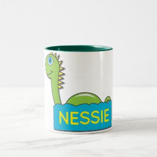 Nessie Two-Tone Coffee Mug