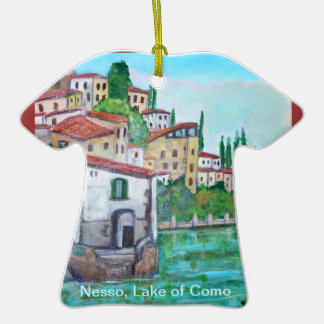 Nesso, Lake Como Ornament