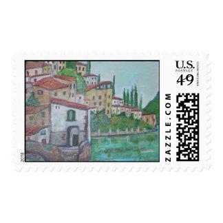 Nesso, Lake of Como Stamps