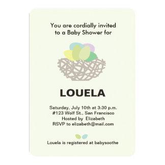 nest baby shower card