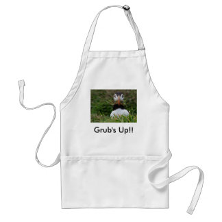 Nest Builder Puffin, Grub's Up!! Aprons