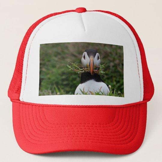 Nest Builder Puffin Trucker Hat