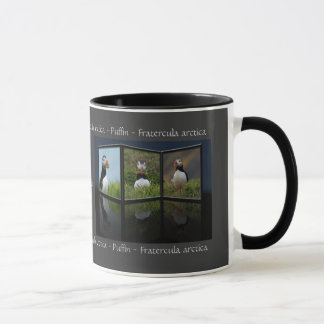 Nest Building Puffin Mug