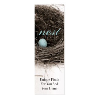 Nest Double-Sided Mini Business Cards (Pack Of 20)