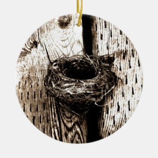 Nest Ceramic Ornament