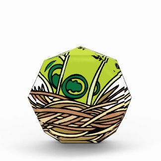 Nest Egg Cash Savings Cartoon Award