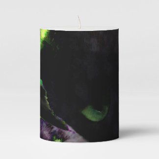 Nest • Egg • Kitty Pillar Candle