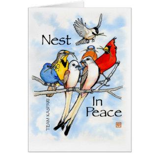 Nest In Peace:  Team Kaspari Card