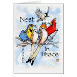 Nest In Peace:  Team Kaspari Greeting Card