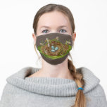 Nest in plantain bordeface mask