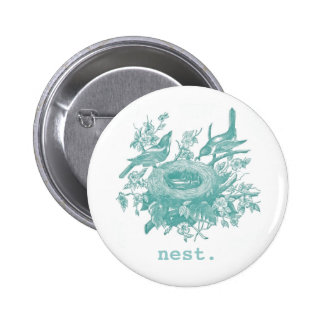 Nest Pinback Button