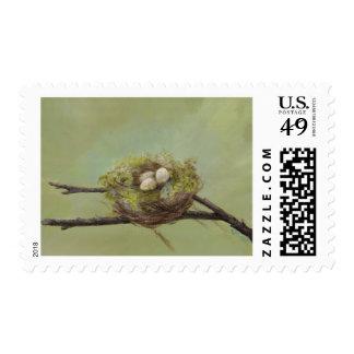 Nest Postage Stamp