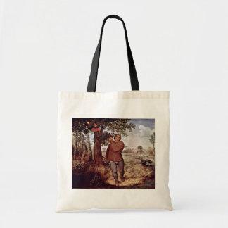 Nestausnehmer por Bruegel D. Ä. Pieter Bolsa De Mano