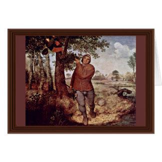 Nestausnehmer por Bruegel D. Ä. Pieter Tarjeta