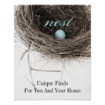 nestblueposter, nest, Unique FindsFor You And Y... Poster