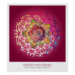 Nested Polyhedra Posters