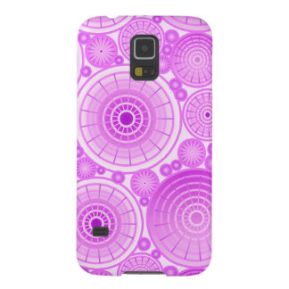 Nested wheels - lavender and purple cases for galaxy s5