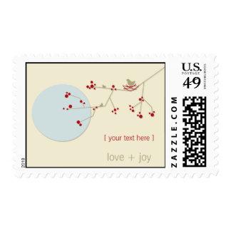 Nesting Bird + Family   *01   Stamps   Postage