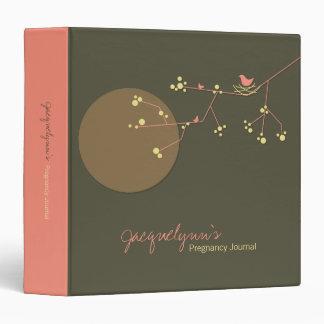 Nesting Bird + Family *02 Pregnancy Journal Binder
