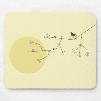 Nesting Bird + Family | *04 | Mousepad