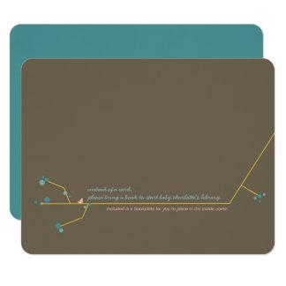 Nesting Bird + Family *06 Bookplate Insert Card