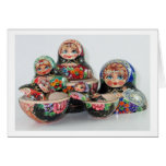 Nesting Dolls Greeting Card