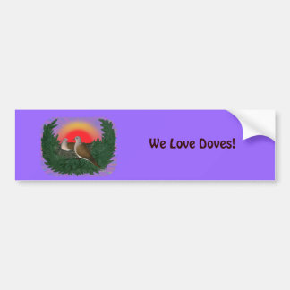 Nesting Doves Bumper Sticker