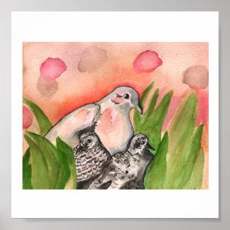 Nesting Doves Poster