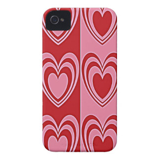 Nesting Hearts Aglow iPhone Case