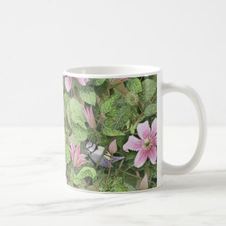 Nesting in Clematis Coffee Mug