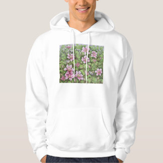 Nesting in Clematis Hooded Sweatshirt