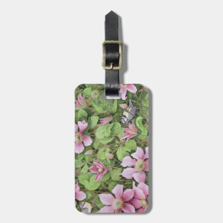 Nesting in Clematis Luggage Tag